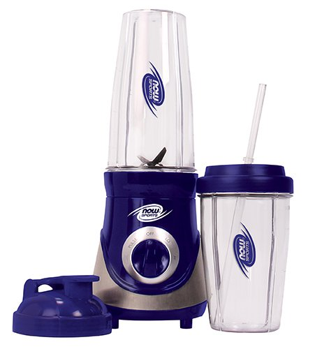 Now Sports Nutrition, Personal Blender with Two BPA-Free and Dishwasher-Safe Cups and Lids, 300 Watt, 1-Blender by NOW Foods