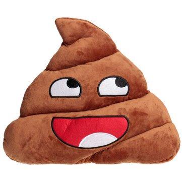 Funny Emoji caca forma de peluche manta almohada cojín de ...