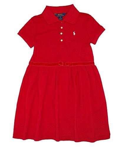 Ralph Lauren Polo Dress, Toddler Girls 2T- Park Avenue Red 6X Park Avenue Dress
