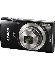 كاميرا بوينت اند شوت 20 ميجابكسل من كانون - اسود، Ixus 185