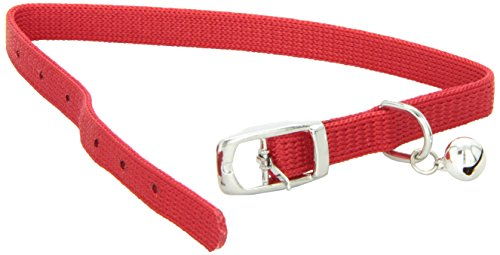 Catit-Nylon-Adjustable-Cat-Collar-Red