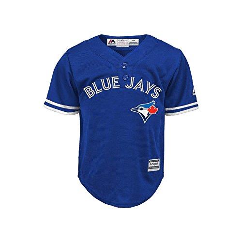 Outerstuff Toronto Blue Jays Blue Toddler Cool Base Alternate Henley Jersey (4T)