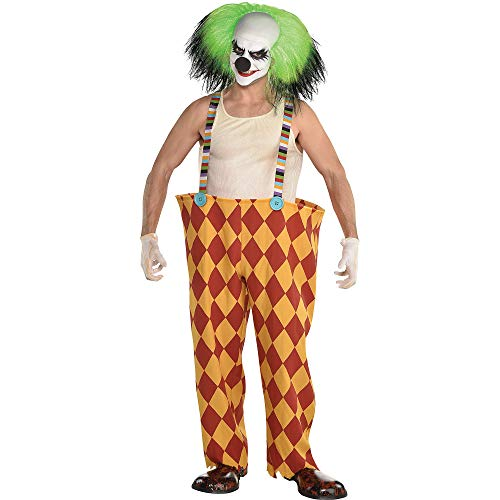 Amscan Clown Pants Halloween Costume Accessory for Adults, Standard