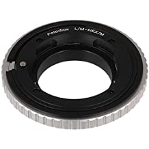 Fotodiox Pro Lens Mount Adapter with Macro Focusing, Leica M Lens to Sony Alpha NEX E-Mount Mirrorless Camera