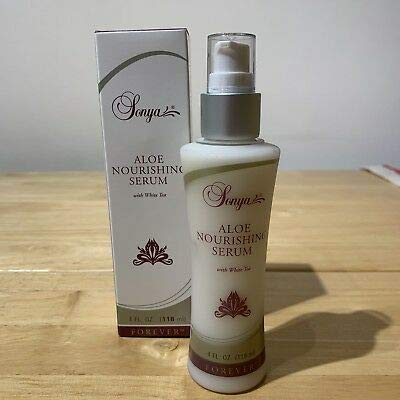 Sonya Aloe Nourishing Serum with White Tea Extract that help maintain a youthful-looking complexion (118ml/4 Fl.Oz)
