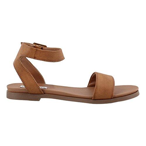 Dress Women's Ankle Strap Madden Steve Pana Cognac Sandal vXqO8wPnW