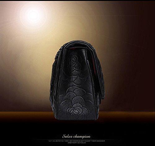 l'épaule Sac femme Noir porter à pour Large noir à noir Size 30CM Macton EBwYB