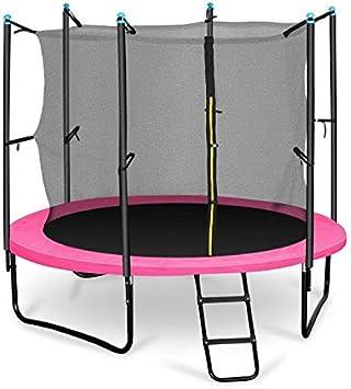 Klarfit Rocketgirl 250 Cama elástica trampolin con Red de ...