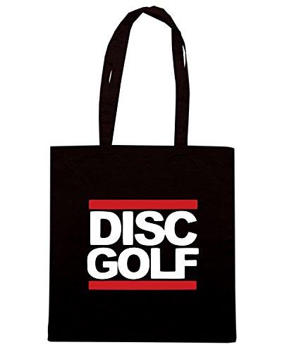 T-Shirtshock - Bolsa para la compra OLDENG00633 run dgc disc golf tee Negro