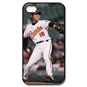 MLB iPhone 4,4S Black Baltimore Orioles cell phone cases&Gift Holiday&Christmas Gifts NADL7B8825385