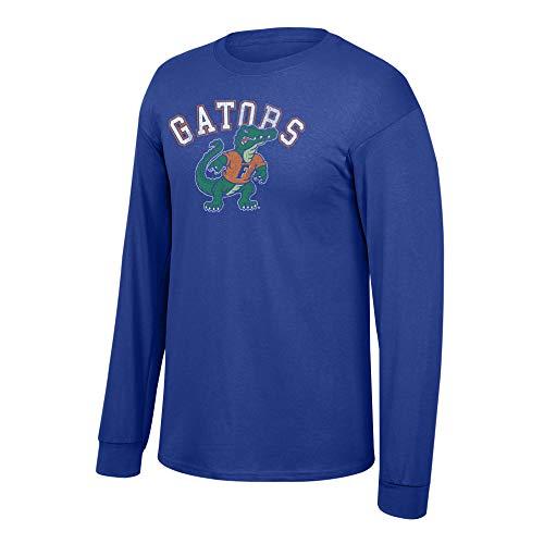 (Elite Fan Shop NCAA Men's Florida Gators Long Sleeve T Shirt Team Vintage Florida Gators Royal)