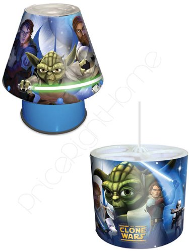 star wars the clone wars bedside kool lamp pendant light shade