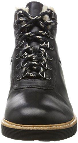 Clarks Marron Leather Femme Black Bottes Witcombe Noir Rock IOqxpIBr