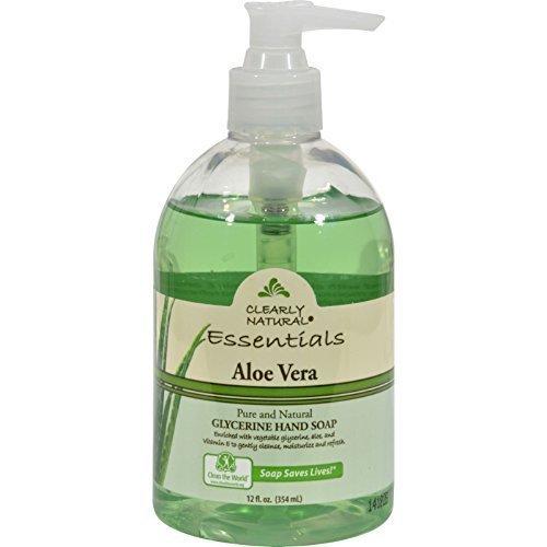 Clearly Natural Liq Soap W/Pump Aloe Vera 12 Fz