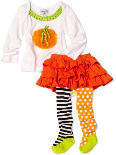 Mud Pie Girls Pumpkin Skirt