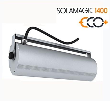mit Zugschalter Solamagic Infrarotstrahler Terrassenstrahler ECO+ wei/ß 1400 Watt
