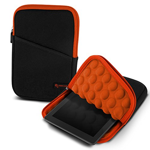 rooCASE Bubble Protection Sleeve Case for Amazon Fire 7, ...