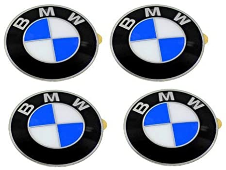 amazon com bmw wheel center cap emblems 4 oem 64 5mm e46 e60 e90