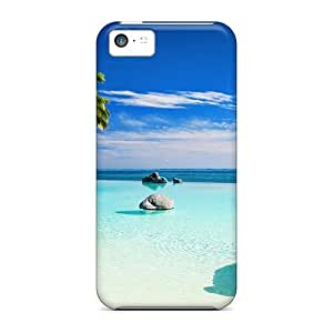 Fashionable OBPAyDf7765snsPD Iphone 5c Case Cover For Welcome To Paradise Protective Case