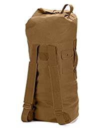 Rothco Double Strap Duffle Bag, Coyote