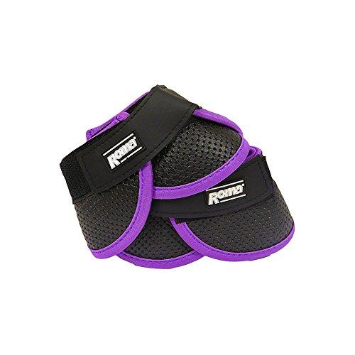 rene Bell Boots - Black/purple - Full ()
