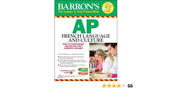 Barron S Ap French Language And Culture With Audio Cds Amazon Com Books