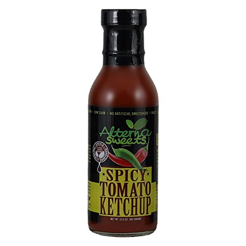 AlternaSweets Spicy Ketchup - 13.5 oz - Stevia Sweetened - C