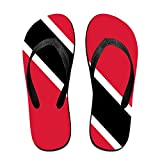 Flag Of Trinidad And Tobago Comfortable Flip Flops For Children Adults Men And Women Beach Sandals Pool Party Slippers