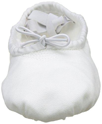 Sansha 1C PRO1C Chaussure de danse Demi-pointes pour Adult en Toile - Femme - Gris/Blanc - 32 EU (Taille Fabricant: 2)
