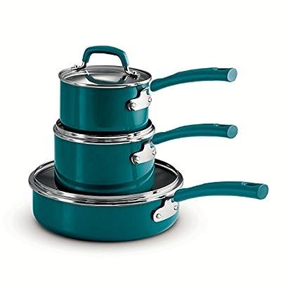Tramontina Stackable Cookware Set 6Pc Metallic Teal