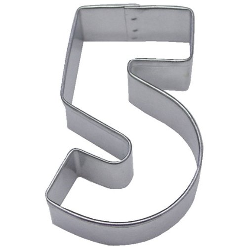 Ann-Clark-Number-5-Cookie-Cutter-3-Inches-Tin-Plated-Steel