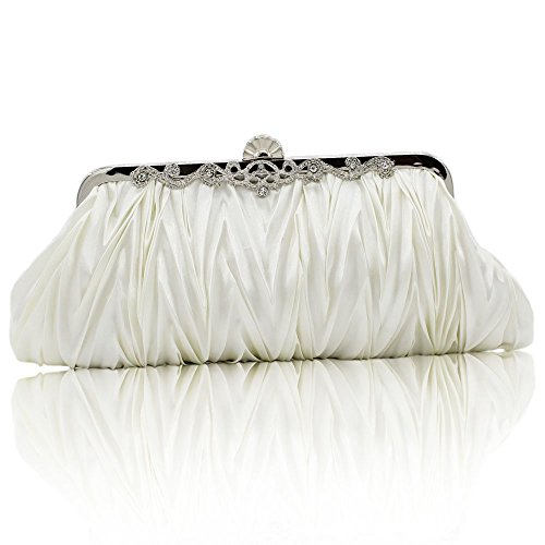 (Kingluck Silk Cocktail Evening Handbags/Clutches in Gorgeous Silk More Colors Availabl)