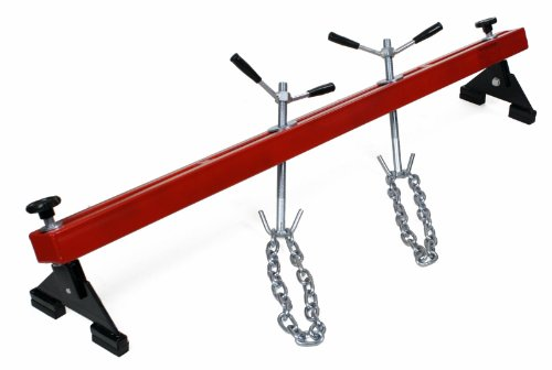 Dragway Tools 1100 lb Engine Support Bar for Transverse Transmission & Transaxle Repair