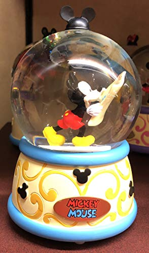 DisneyParks Mickey Mouse Musical Snowglobe