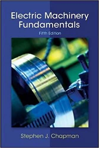 Electric Machinery Fundamentals 5th Edition by Stephen J. Chapman  PDF Download