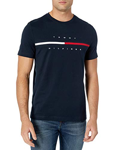 Tommy Hilfiger Men's Short Sleeve Logo T-Shirt