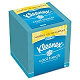 KIMBERLY-CLARK PROFESSIONAL* Cool Touch Facial Tissue, 3 Ply, 50 Sheets per Box, 1 per Box