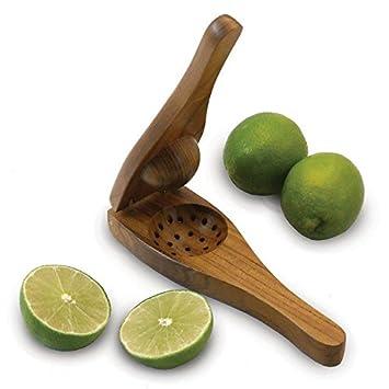 Compra Limón Madera Exprimidor Exprimidor Calidad Premium - Exprimidores fuertes - Exprimir los limones, limas esfuerzo By You Look Hot en Amazon.es