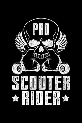 Pro Scooter Rider: Lined A5 Notebook for Escooters (Pro Scootering)