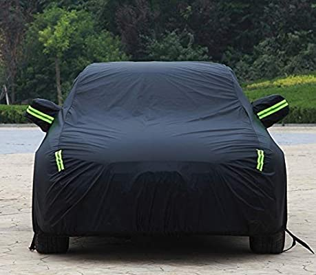 Color : Black Jaguar F-pace Car Clothing XFL XE XJ Special Car Cover XKR F-type Sun Protection Rain Oxford Car Cover