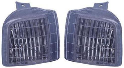 Go-Parts PAIR/SET OE Replacement for 1995-2005 GMC Safari Corner Lights Assemblies/Lens Cover - Left & Right (Driver & Passenger) Replacement For GMC Safari ()