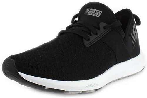 Pinchazo abajo religión  Amazon.com | Women's New Balance, FuelCore Nergize Crosstraining Sneakers  BLACK WHITE 12 B | Fitness & Cross-Training
