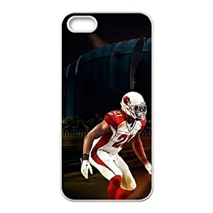Arizona Cardinals iPhone 5 5s Cell Phone Case White persent zhm004_8502162