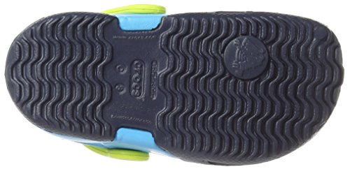 Crocs Electro Ii, Zuecos Niños Blu (Navy/Electric Blue)