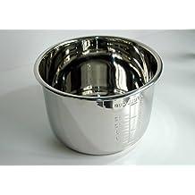 German Pool® IP6 Stainless Steel Inner Pot for 6L Multi-cooker, Pressure cooker, Rice Cooker (URC-16)