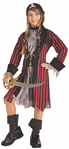 Rubies Caribbean Princess Child Costume, Un solo color, Small 4-6