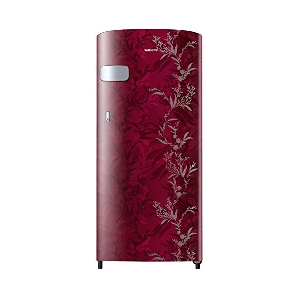 Samsung 192 L 1 Star Direct Cool Single Door Refrigerator (RR19A2YCA6R/NL, Mystic Overlay RED) 2021 August Direct-cool refrigerator : economical and Cooling without fluctuation Capacity 192 liters: suitable for families with 2 to 3 members and bachelors Energy rating 1 Star