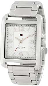 Tommy Hilfiger 1781194 - Reloj para mujeres, correa de acero inoxidable color plateado