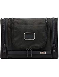 Alpha 3 Hanging Travel Kit - Luggage Accessories Toiletry Bag for Men and Women - Black