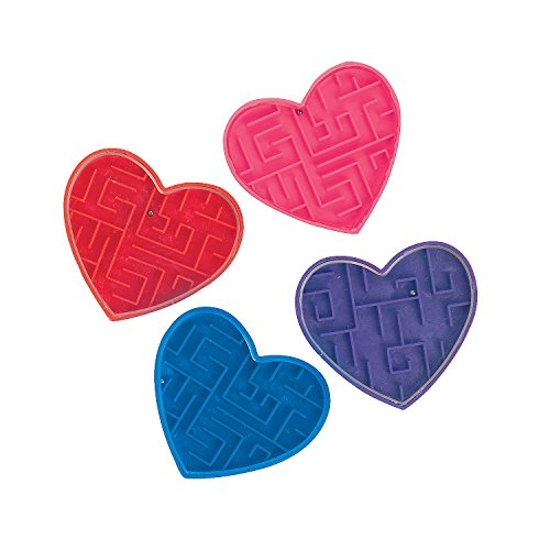 Fun Express Heart Maze Puzzles